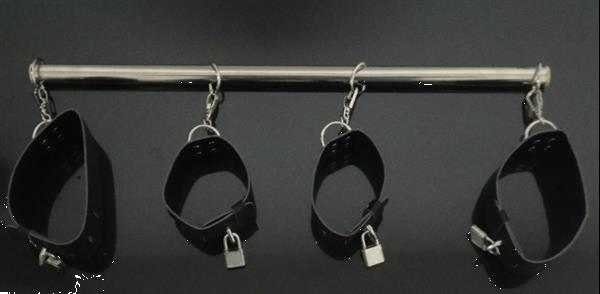 Grote foto roestvrij staal sex bondage set. erotiek bondage sets
