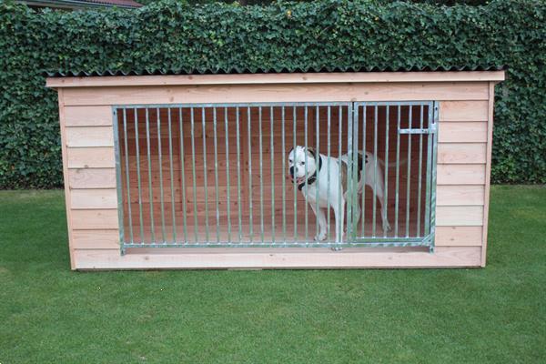Grote foto luxe douglas hondenkennel type rex dieren en toebehoren hondenhokken en kooien