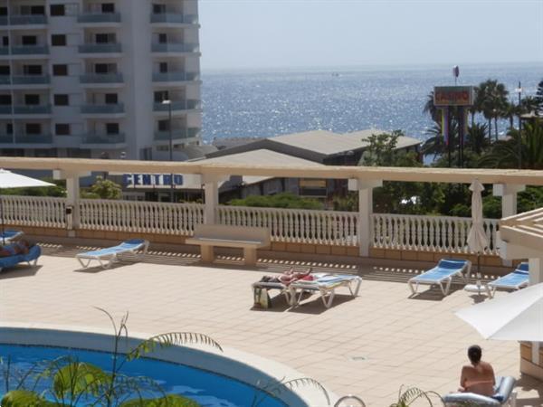 Grote foto prive apprtement op het strand tenerife vakantie spanje