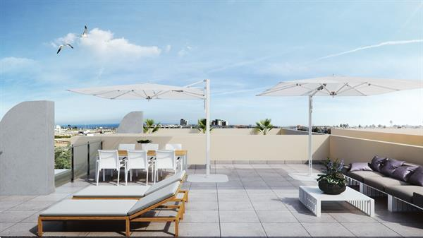 Grote foto moderne appartementen strand orihuela costa vakantie spaanse kust