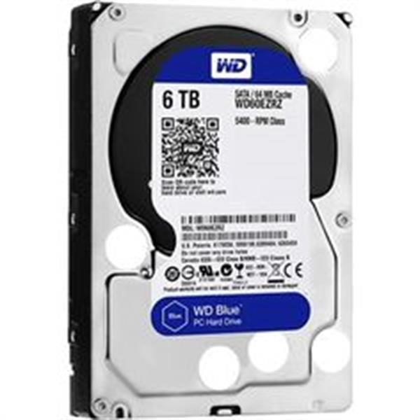 Grote foto 6.0tb wd blue hd apple modellen 3.5 inch sata computers en software harde schijven