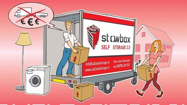 Grote foto bedrijfsruimte opslagcontainer opslagruimte huren diensten en vakmensen verhuizers en opslag
