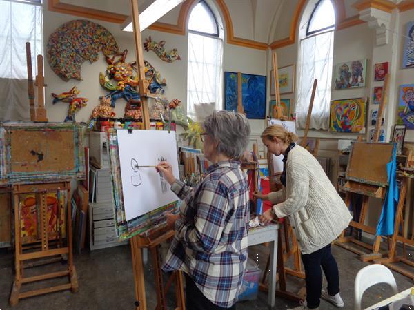 Grote foto proefles tekenen en schilderen 2019 in tilburg diensten en vakmensen cursussen en workshops