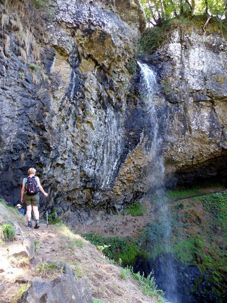 Grote foto wandelen in de auvergne zuidelijk frankrijk sport en fitness bergsport en wandelen