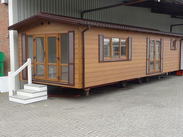 Grote foto stacaravan nordhorn nordhorn wintervast korting caravans en kamperen stacaravans
