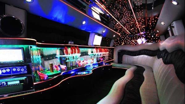Grote foto limousine service diensten en vakmensen feesten