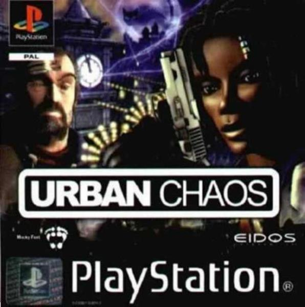 Grote foto ps1 urban chaos spelcomputers games playstation