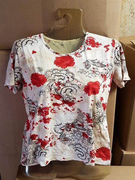 Grote foto dames shirts viscose elasthan kleding dames t shirts