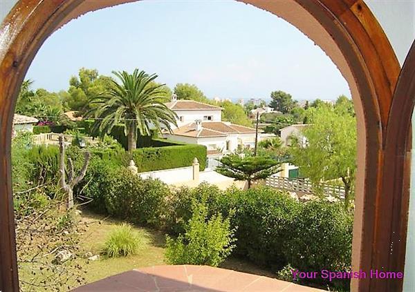 Grote foto pretty villa in j vea close to the arenal beach. huizen en kamers bestaand europa