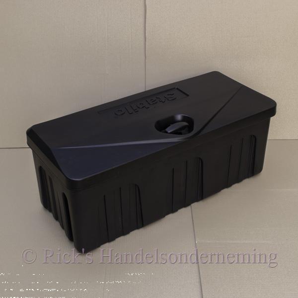Grote foto disselbak opberbox stabilo 750 kunststof auto diversen aanhangwagen onderdelen