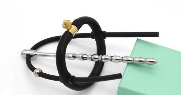Grote foto steel electric shock penis urethral plug est 40 erotiek electro sex