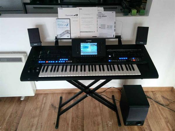 Grote foto yamaha tyros 4 special edition keyboard muziek en instrumenten keyboards