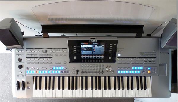Grote foto yamaha tyros 5 met 61 toetsen muziek en instrumenten keyboards