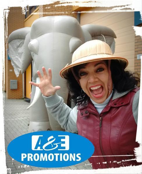 Grote foto neushoorn spel verhuur jungle games utrecht diensten en vakmensen entertainment