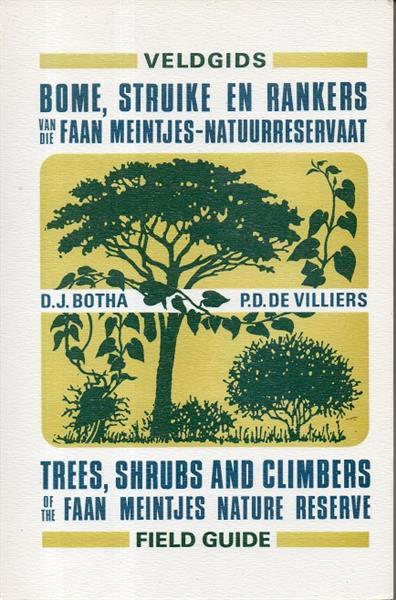 Grote foto bome struike en rankers faan meintjes reservaat boeken natuur