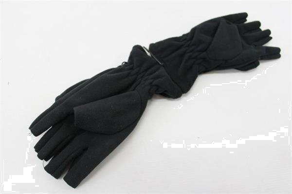 Grote foto dam fleece gloves finger cover maat m handschoenen sport en fitness vissport