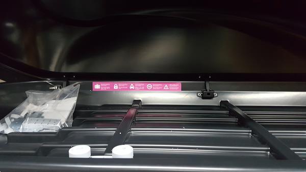 Grote foto dakkoffer skibox bagagebox sx1 450ltr 180cm auto onderdelen dakdragers en skiboxen