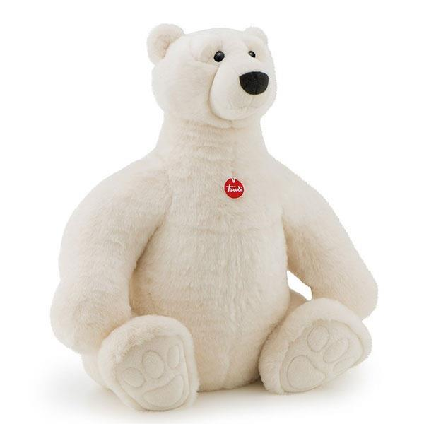 Grote foto pluche trudi ijsbeer placido 80cm kinderen en baby overige