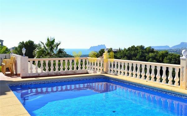 Grote foto a very nice villa in good condition sea views. huizen en kamers vrijstaand