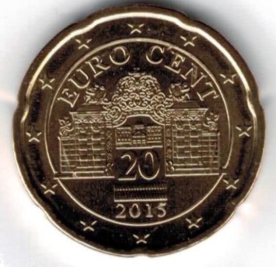 Grote foto oostenrijk 20 cent 2015 verzamelen munten overige