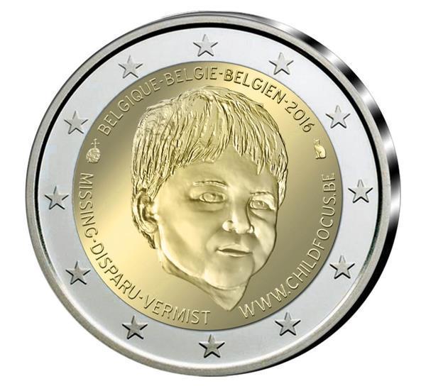 Grote foto belgie 2 euro 2016 child focus verzamelen munten overige