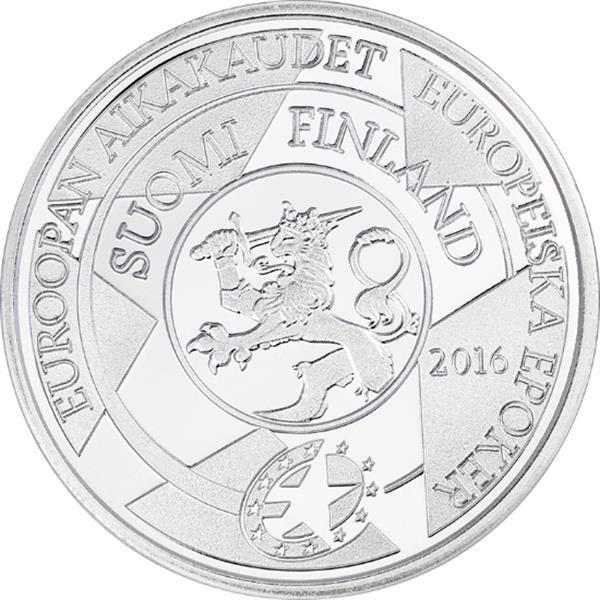 Grote foto finland 10 euro 2016 arvar aalto verzamelen munten overige