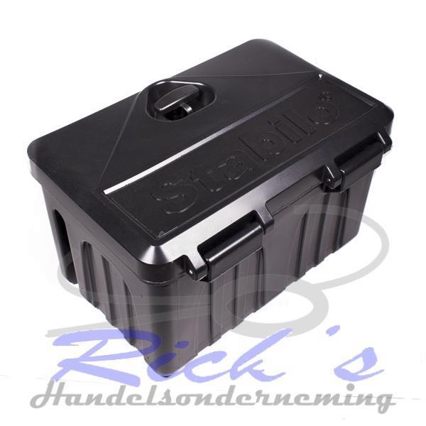 Grote foto opbergbox disselbak kunststof 500x340x300 auto diversen aanhangwagen onderdelen