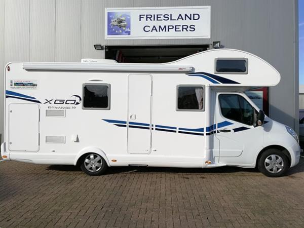 Grote foto ruime familiecamper met 200 gratis extra caravans en kamperen campers