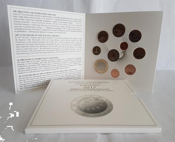 Grote foto sloveni bu 2017 verzamelen munten overige