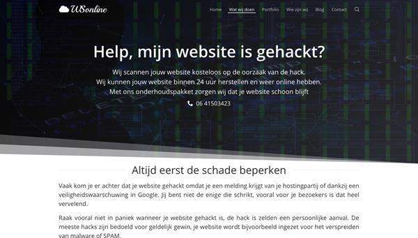 Grote foto help mijn website is gehackt diensten en vakmensen webdesigners en domeinnamen