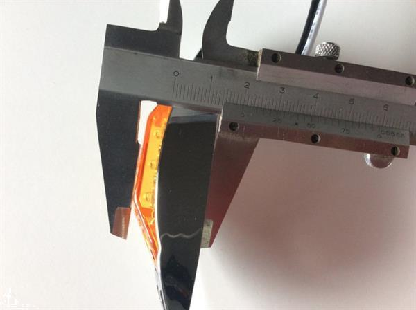 Grote foto 3 led zijmarkering lamp orange met e keur artikelnummer 3 l auto onderdelen tuning en styling