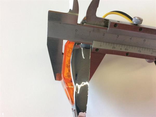 Grote foto 6 led zijmarkering lamp orange artikelnummer led 6 orange auto onderdelen tuning en styling