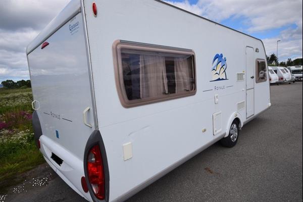 Grote foto knaus sudwind 500 2004 caravans en kamperen caravans