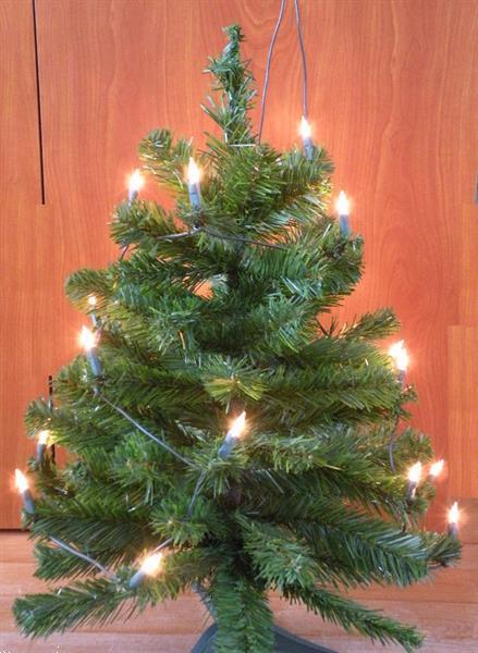 Grote foto kerstboom kunststof met lampjes.met verlichting. diversen kerst