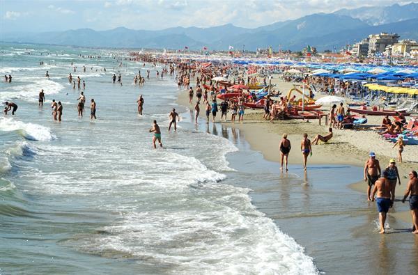 Grote foto itali camping stacaravan aan zee toscane vakantie strandvakanties