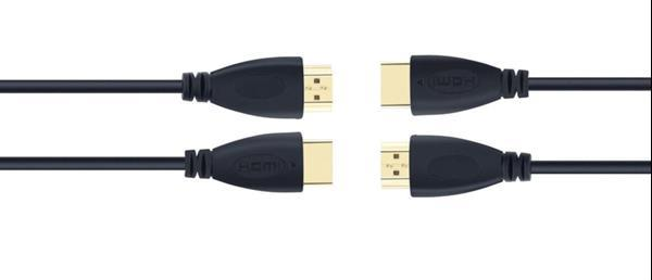 Grote foto hdmi kabel 2m 2 meter gold plated male male high speed full computers en software overige computers en software