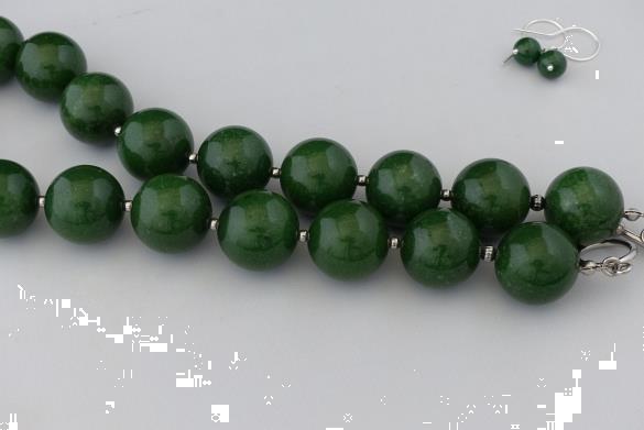 Grote foto agaat 20 mm ketting oorhanger set sieraden tassen en uiterlijk kettingen