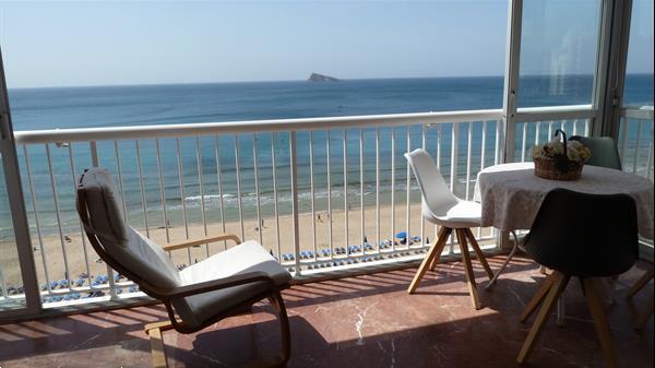Grote foto benidorm luxe appartement direct aan het strand vakantie spaanse kust