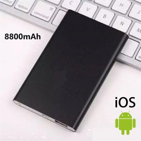 Grote foto externe 8800mah ultra thin powerbank noodaccu oplader slim c telecommunicatie batterijen en accu