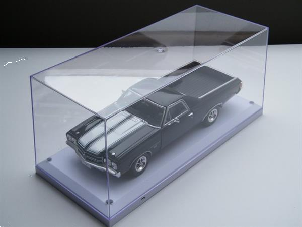 Grote foto modelauto display case vitrine led licht 1 18 verzamelen auto en modelauto