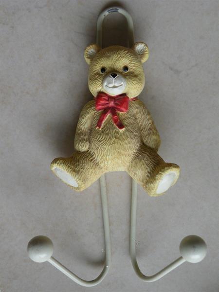 Grote foto kapstokhaak beer. als nieuw. kinderen en baby inrichting en decoratie