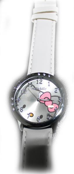 Grote foto minion horloge witte band leuk sint cadeautje sieraden tassen en uiterlijk kinderen
