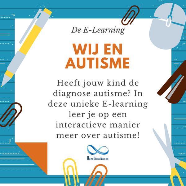 Grote foto training wij en autisme diensten en vakmensen cursussen en workshops