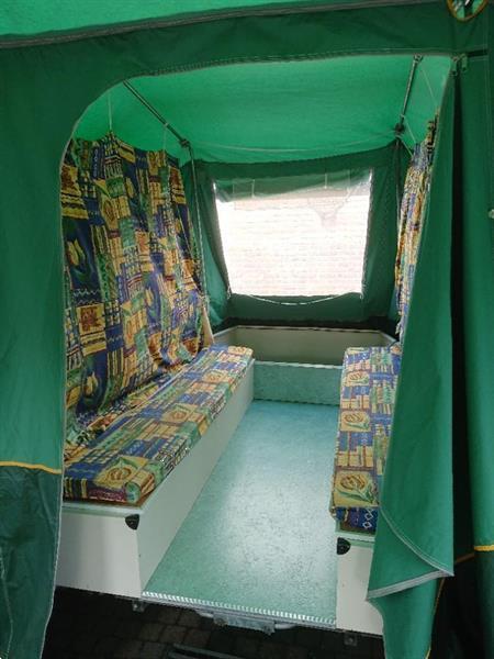 Grote foto te koop vouwwagen gerjak tago desert 2001 caravans en kamperen vouwwagens