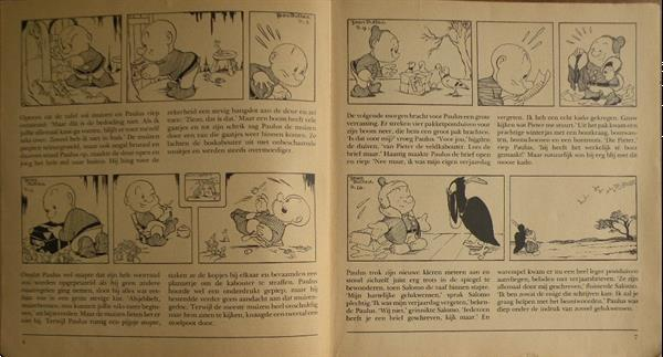 Grote foto paulus de boskabouter wat een gemier . 1972. boeken stripboeken