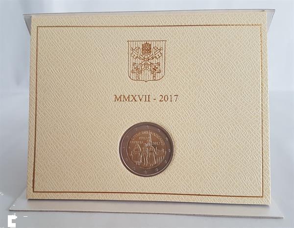 Grote foto vaticaan 2 euro 2017 fatima verzamelen munten overige