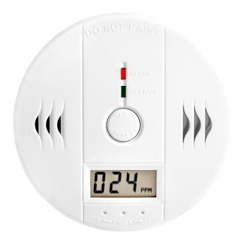 Grote foto koolmonoxide melder co gas alarm detector sensor detectie doe het zelf en verbouw brandblussers
