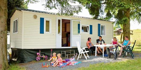 Grote foto stacaravan 4p op camping met zwembad la roche vakantie belgi