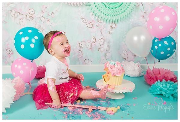 Grote foto nieuw cakesmash setjes setjes 1e verjaardag kinderen en baby maat 80