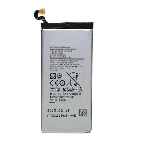 Grote foto samsung galaxy s6 batterij accu a kwaliteit 0766129151749 telecommunicatie batterijen en accu